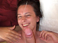 Amateurs Girl Loves Cum Shots On Her Face